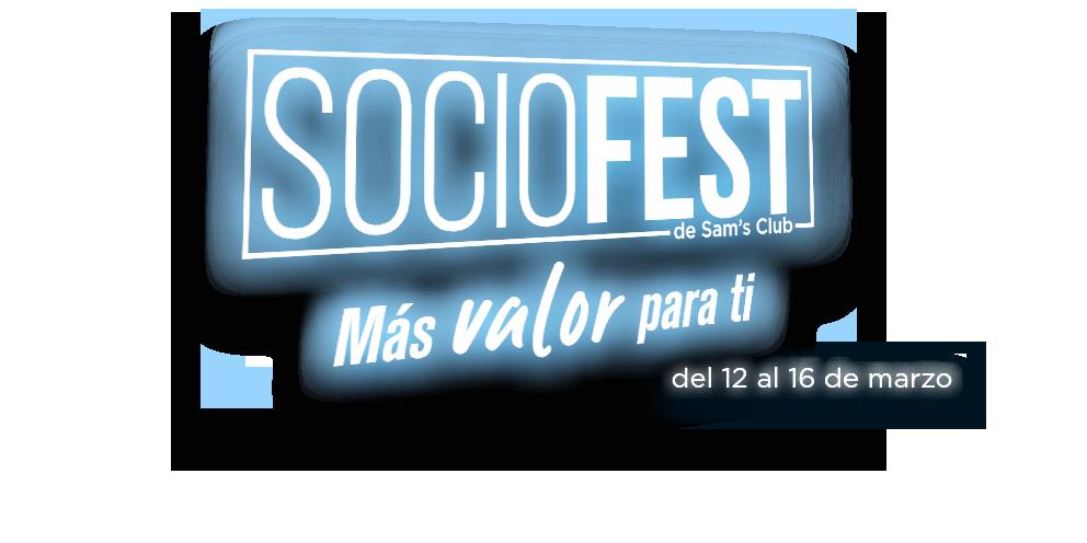 Socio Fest Más valor para ti