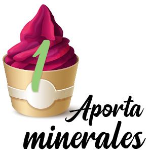 1. Aporta minerales
