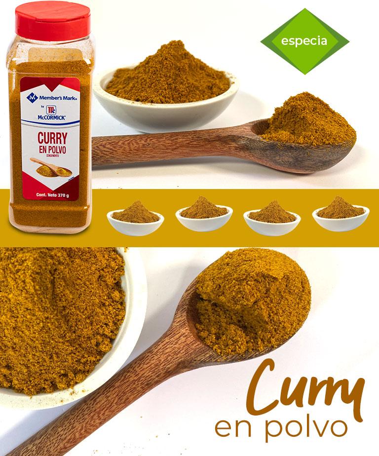 Curry en polvo, especia