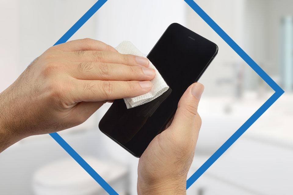 Desinfecta tu celular