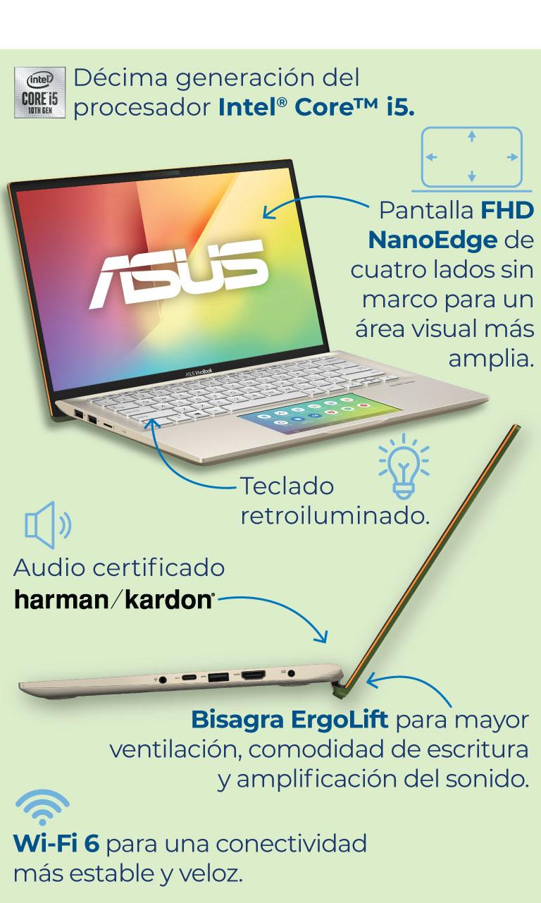 Nueva Asus Vivobook S con ScreenPad 2.0