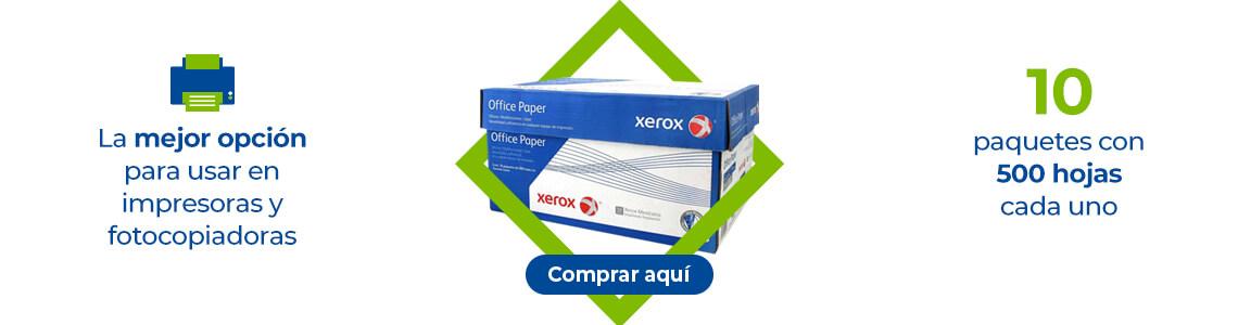Xerox-Comprar La mejor opción para usar e impresoras y fotocopiadoras. 10 paquetes con 500 hojas cada uno.