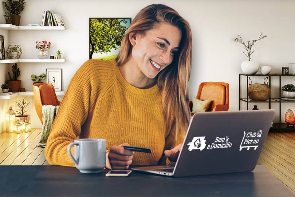 Compra en línea y disfruta en casa
