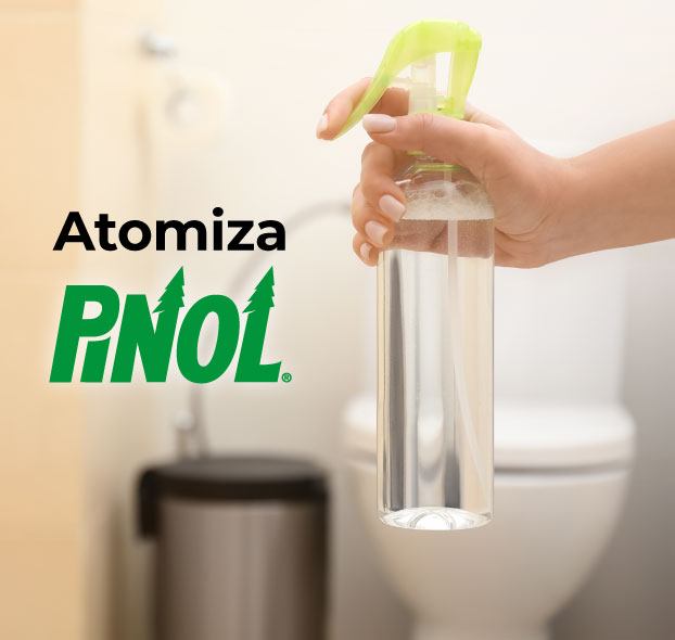 Atomiza con Pinol
