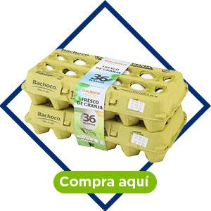 Huevo Blanco Bachoco 36 pzas