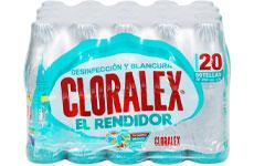 Blanqueador líquido, 20 piezas de 250 ml. Cloralex