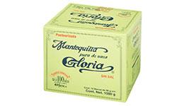 Mantequilla La Gloria sin Sal 12 pzas de 90 g c/u
