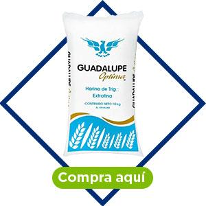 Harina de Trigo Guadalupe Óptima Extrafina 10 kg