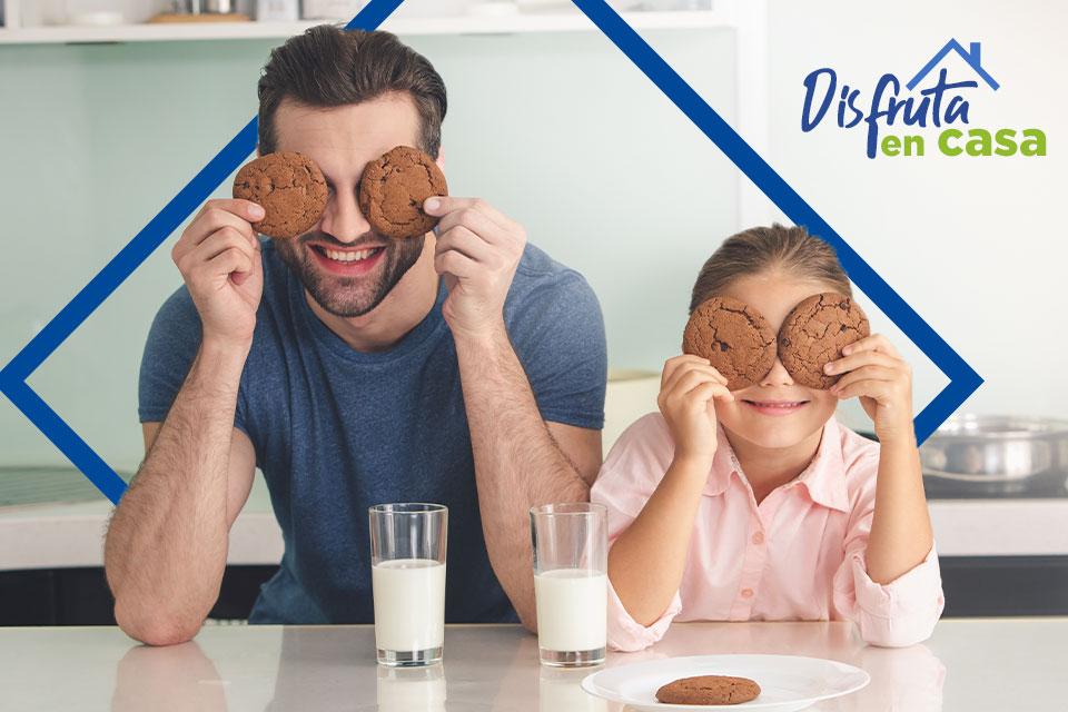 Prepara ricas y divertidas galletas con toda la familia