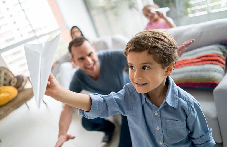 Hojas blancas, las mejores amigas de tus hijos