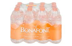 Agua natural, 12 pzs, 1l Bonafont