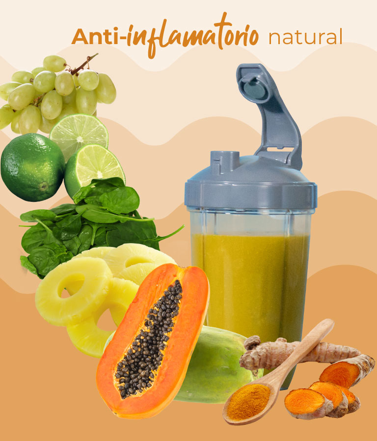 Jugo de cúrcuma Anti-inflamatorio natural