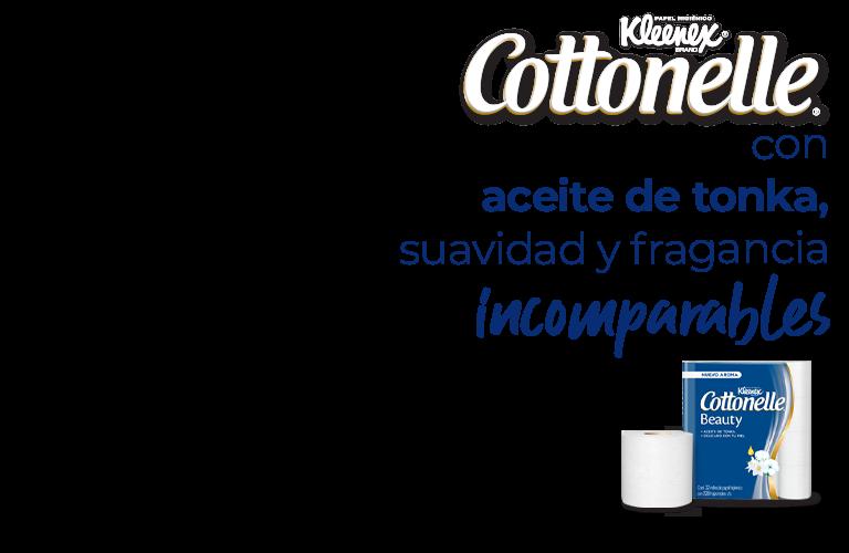 Kleenex Cottonelle con aceite de tonka, suavidad y fragancia incomparables