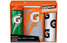 Polvo Para Preparar Bebida para Deportistas Gatorade Sabor Naranja 2.38 kg + Cilindro y Toalla