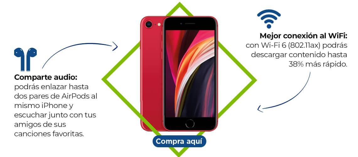 iPhone SE características