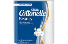 Papel higiénico con aceite de tonka. Cottonelle.