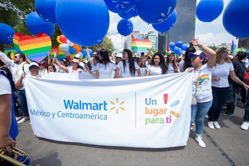 Marcha diversidad Walmart