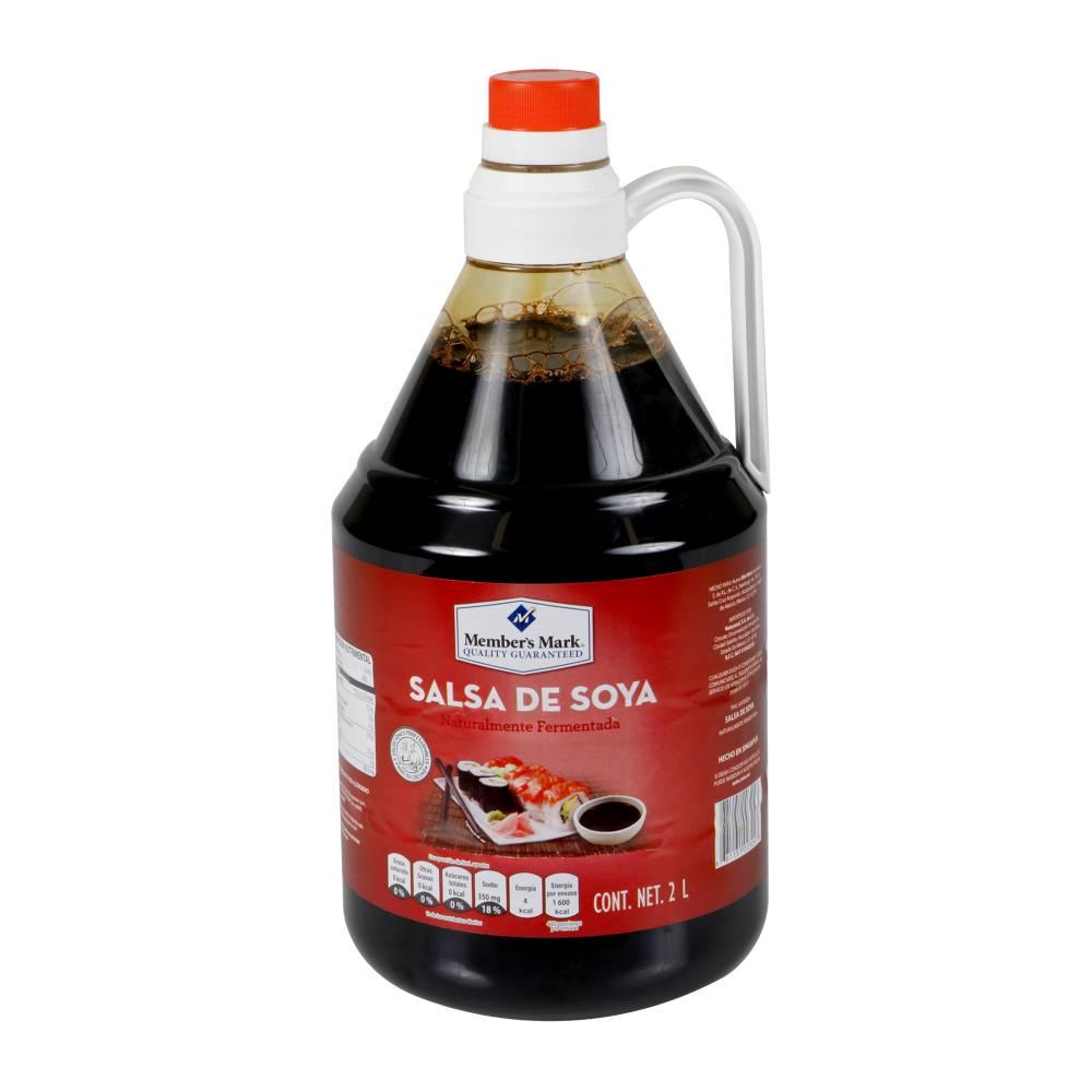 BC 2L SALSA DE SOYAMEMBER'S MARK