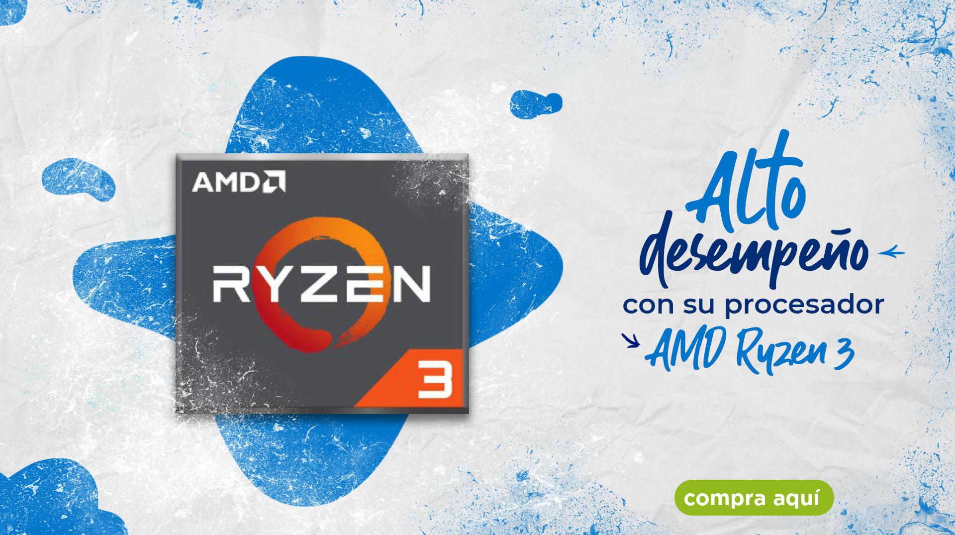 alto desempeño en su procesador AMD