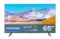 """Pantalla 65"""", UHD. Samsung."""