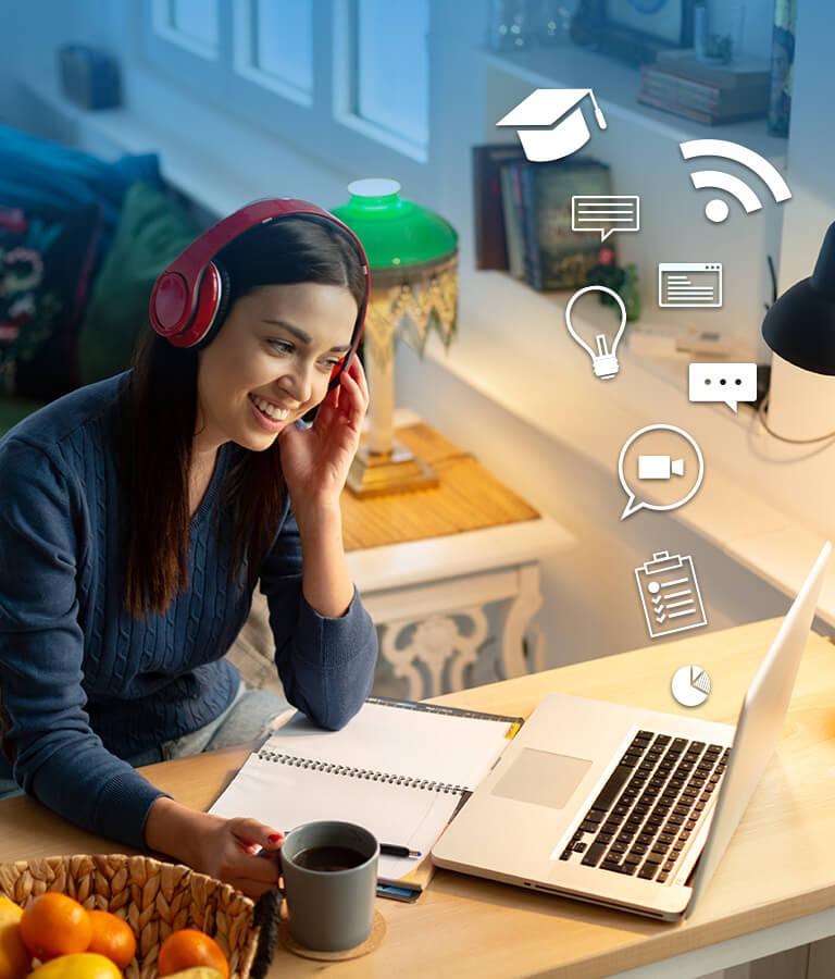 Tips para tomar clases en línea