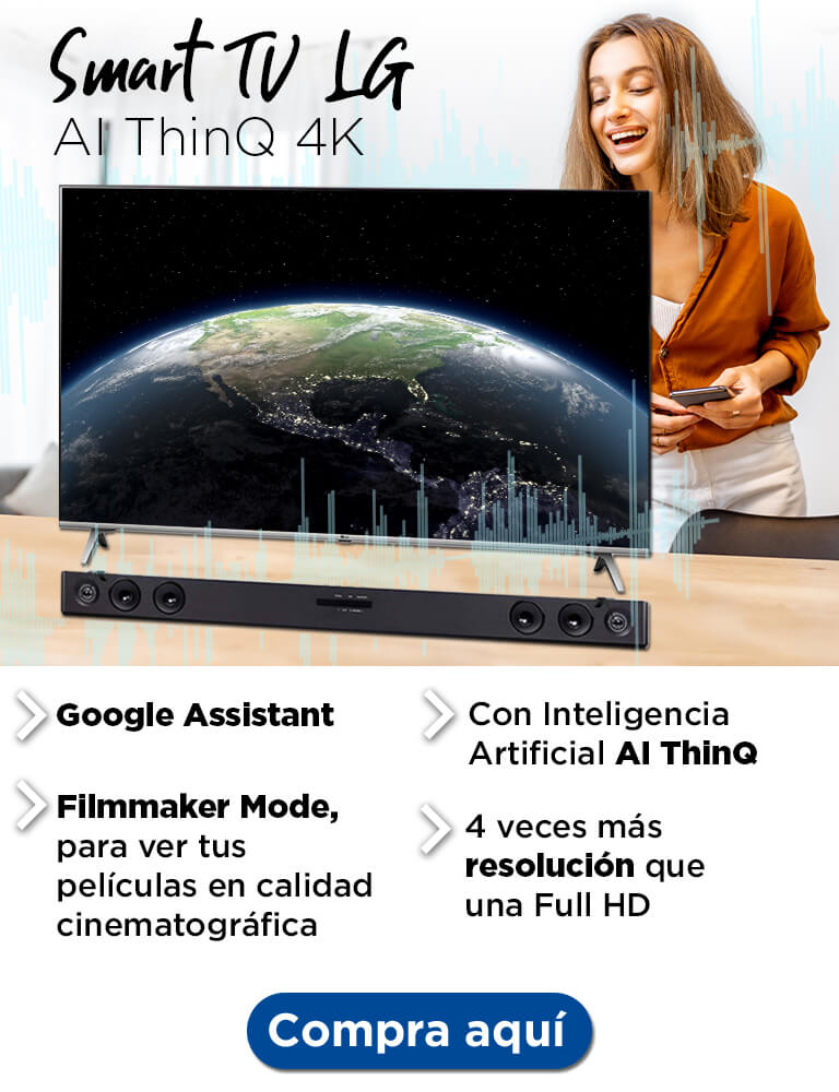 Smart TV LG Ai Thinq 4k