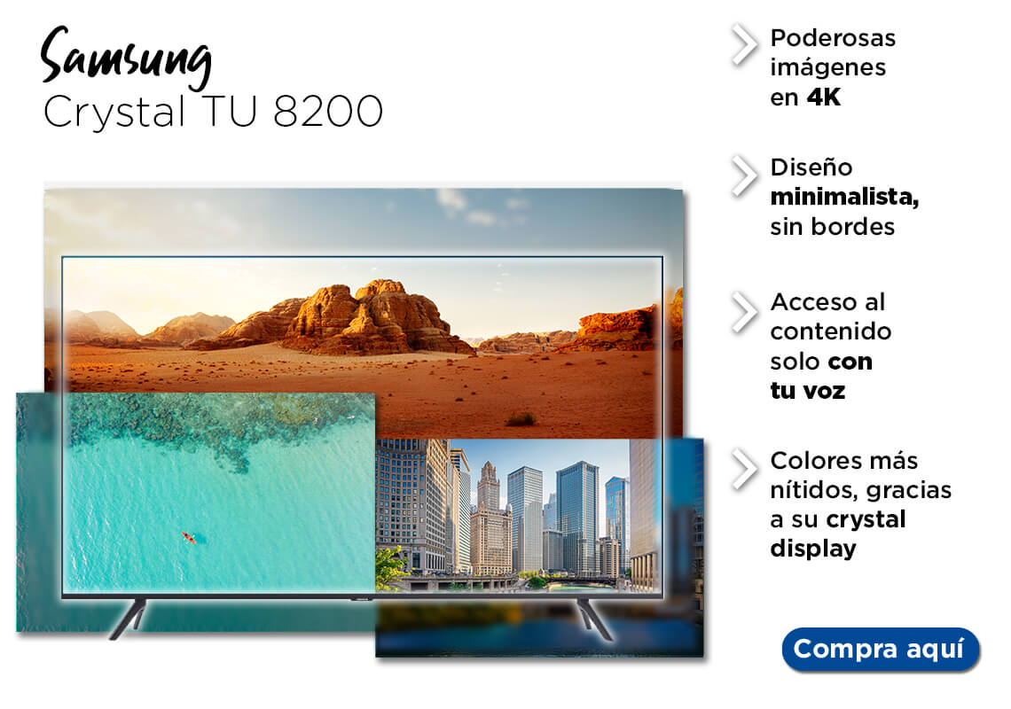 Samsung Crystal TU 8200