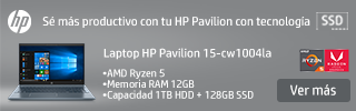 superbanner Laptop HP Ryzen 5 12 GB RAM 1TB + 128GB SSD
