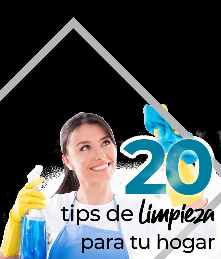 20 tips de limpieza para tu hogar