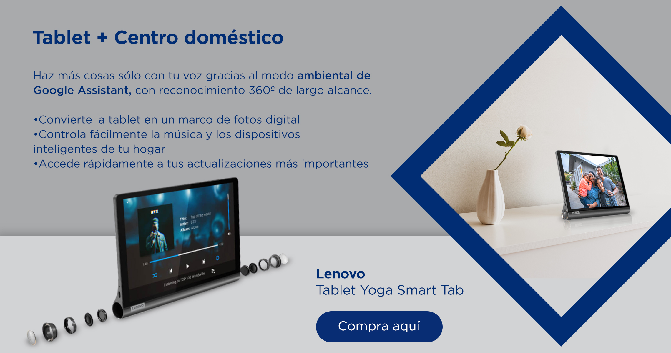 Lenovo Tablet Yoga Smart Tab