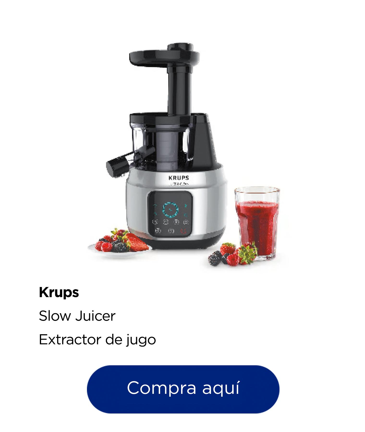 Krups Extractor de jugo Slow Juicer