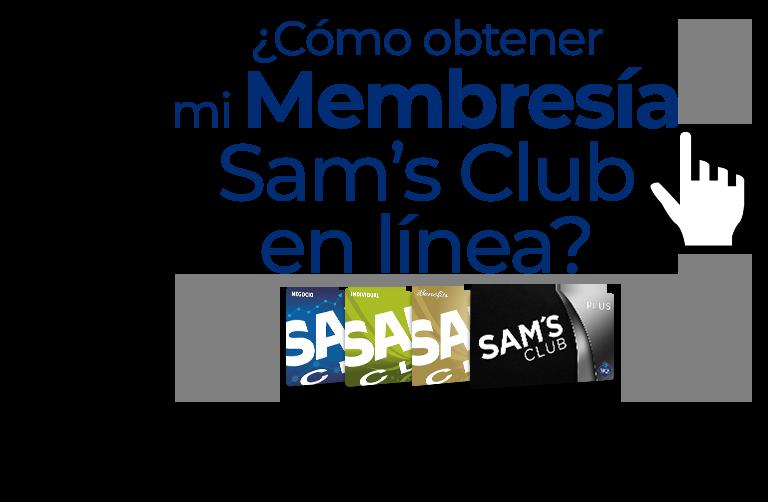 ¿Cómo obtener mi Membresía Sam's Club en línea?