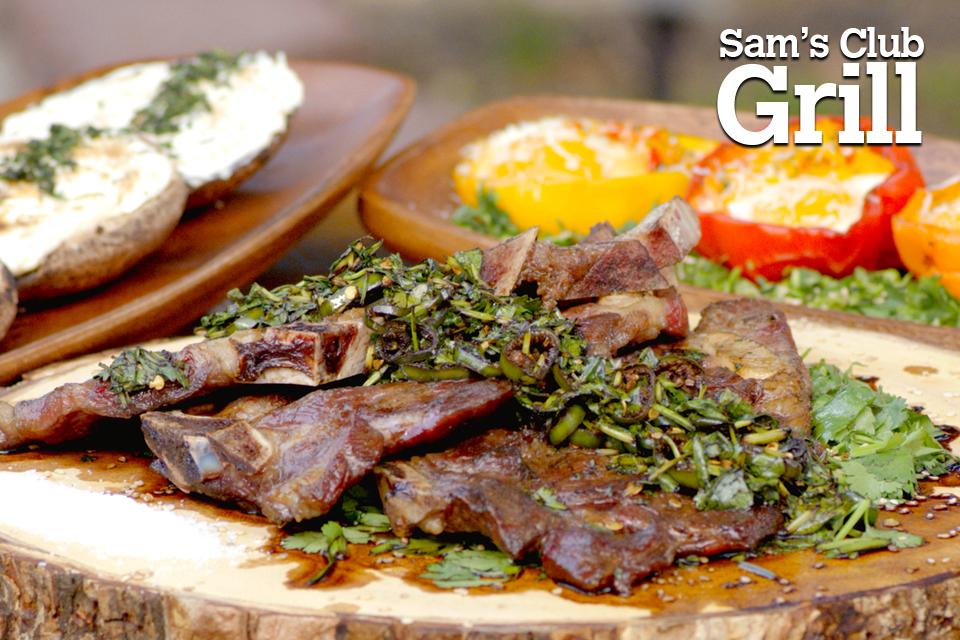 Agujas norteñas. Sam's Club Grill