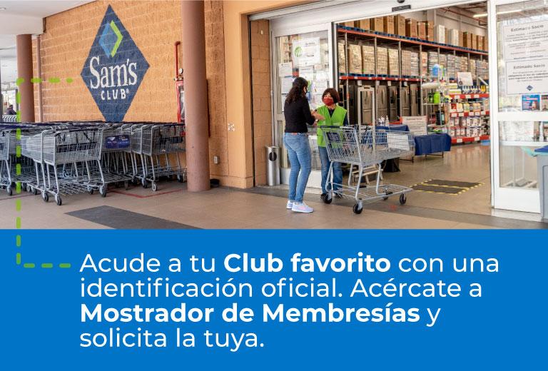 Acude a tu Club favorito con una identificación oficial. Acércate a Mostrador de Membresías y solicita la tuya.