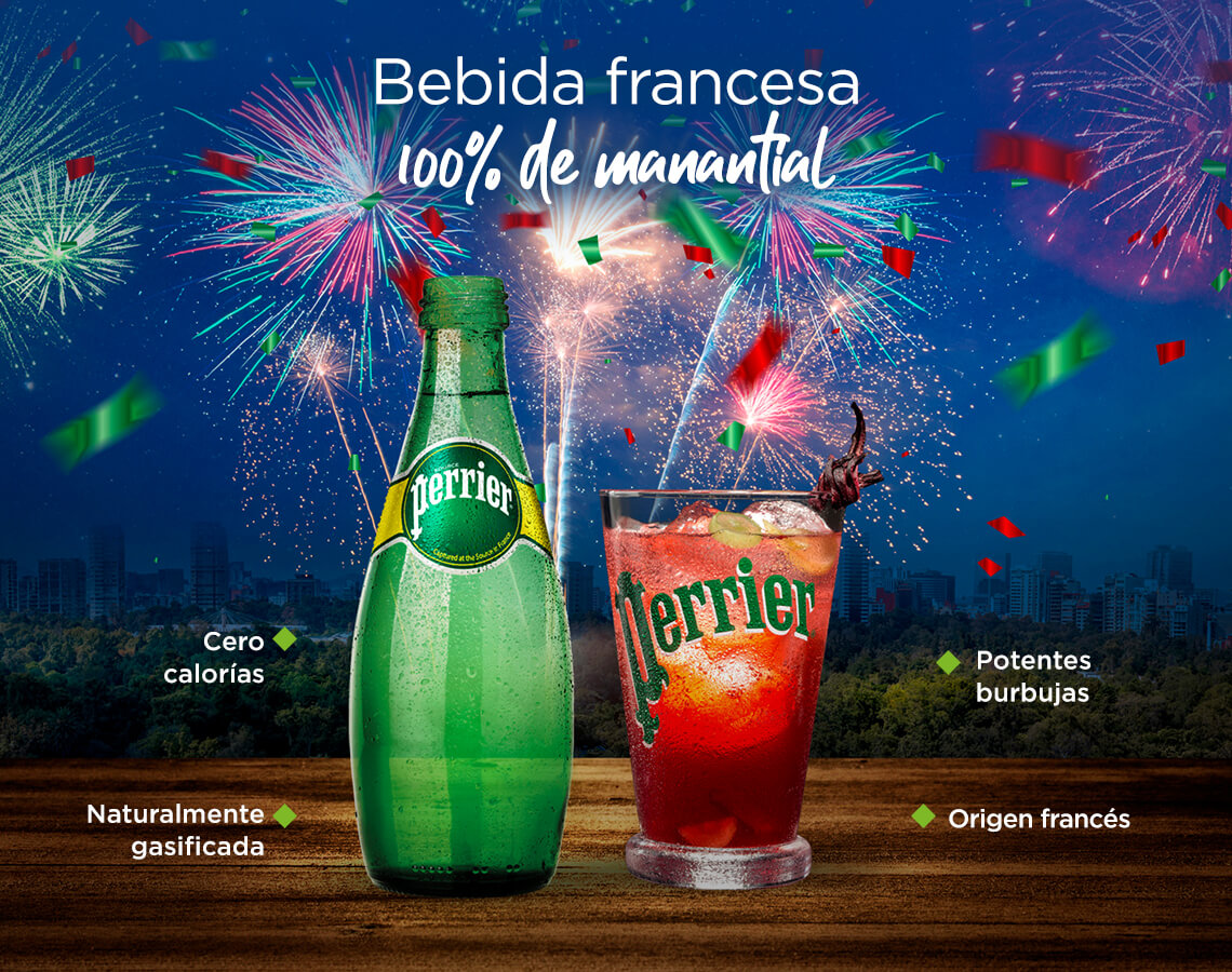 Bebida francesa 100% de manantial