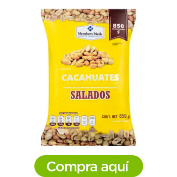 Cacahuates Salados Member's Mark 850 g