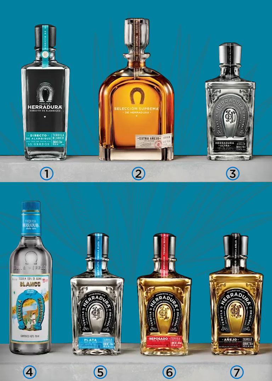 Familia de Tequila Herradura
