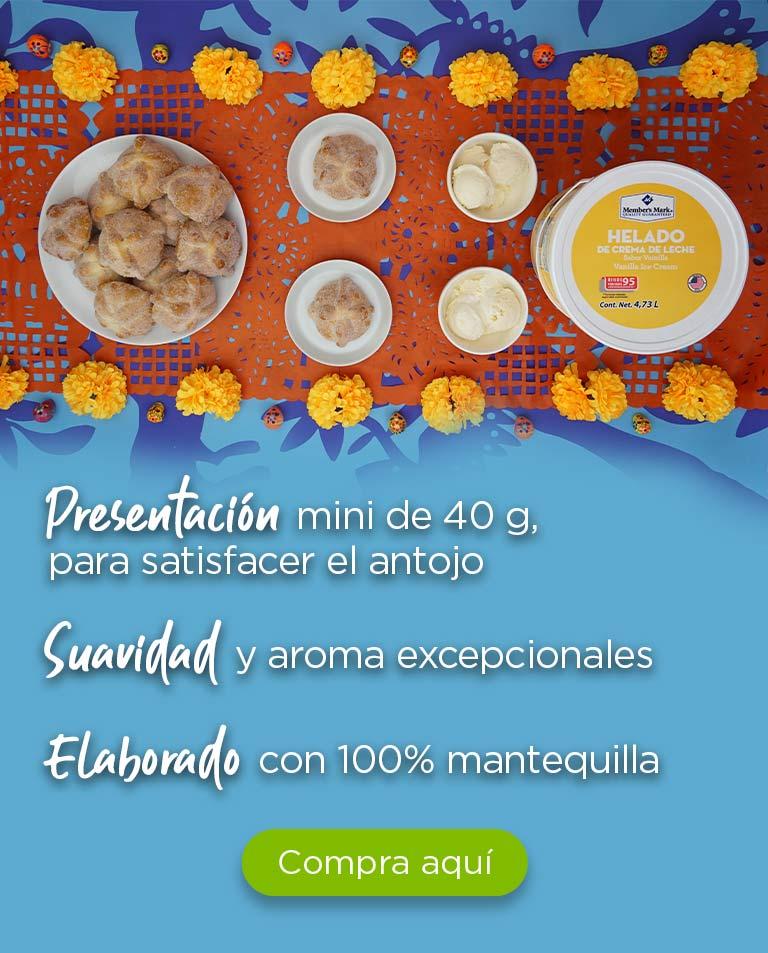 Elaborado con 100% mantequilla Suavidad y aroma excepcionales Presentación mini de 40 g, para satisfacer el antojo