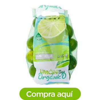 Limón sin Semilla Orgánico 1.8 kg