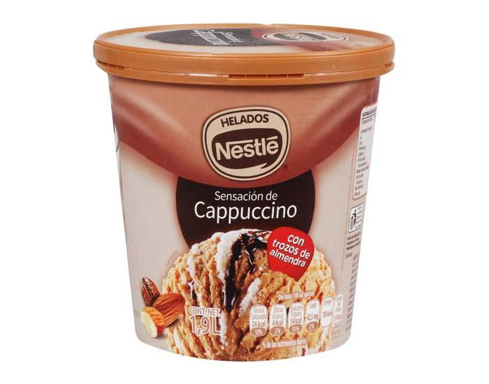Helado de Cappuccino