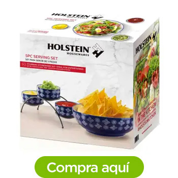 Set de Servicio Holstein Housewares con 5 pzas