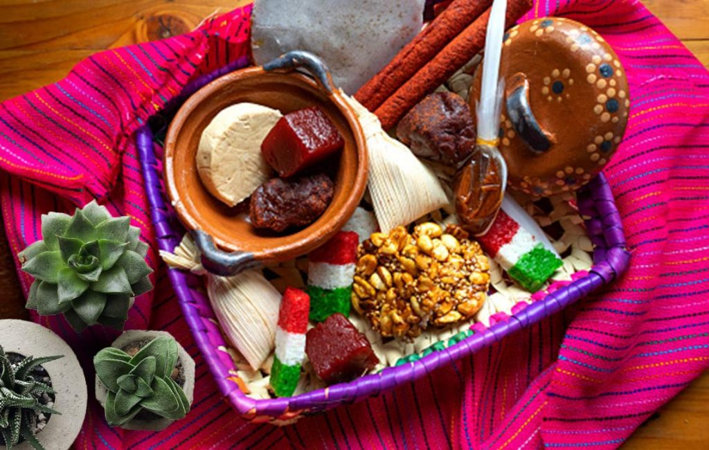 Decoración de fiestas patrias mexicana.