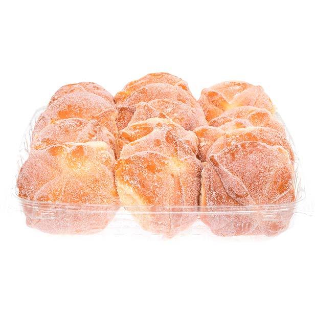 Pan de muerto mini de mantequilla, 40 g. Member's Mark.