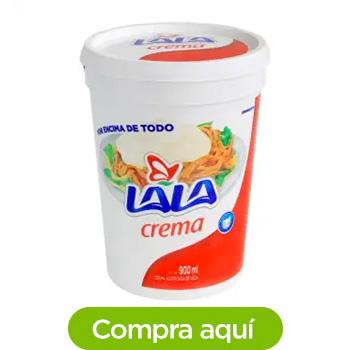 Crema Lala Acidificada 900 ml