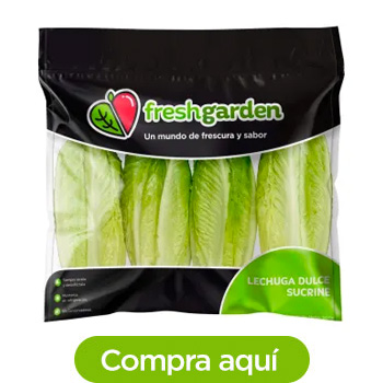 Lechuga Dulce Fresh Garden 4 pzas