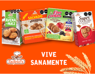 Taifelds galletas - Boxbanner - Home Mundo Sam\'s - Galletas avena y nuez