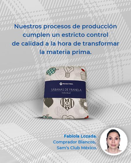 Nuestros procesos de producción cumplen un estricto control de calidad a la hora de transformar la materia prima.