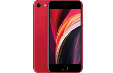 iPhone SE, rojo, 64 GB. Apple