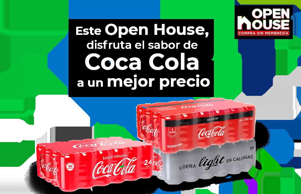 disfruta el sabor de Coca cola a un mejor precio