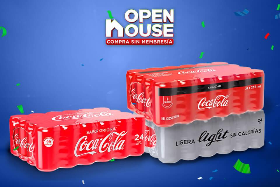 Disfruta Coca Cola a un precio increíble